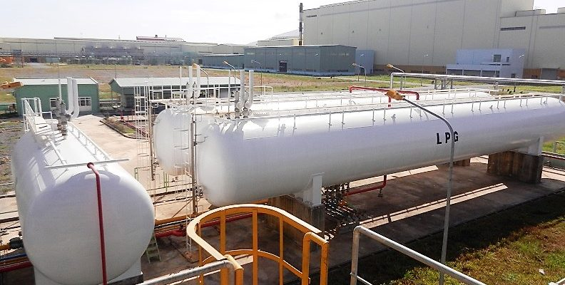 02 x 125Mt Cynlindrical Tanks + 100m3 Buffer Tank at China Steel Sumikin Factory (CSVC)
