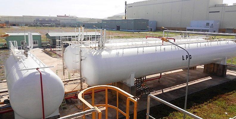 02 x 125Mt Cynlindrical Tanks + 100m3 Buffer Tank at China Steel Sumikin Factory (CSVC)