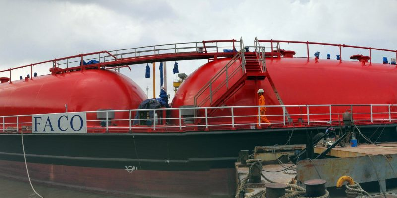 FACO 750m3 Cylindrical Tanks