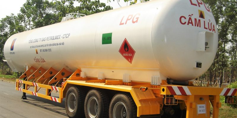 03 x 3-Axle + 01 x 2-Axle LPG Trailers Equipped with 47m3 + 32m3 Tanks (Gas Petrolimex)